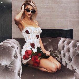 La Christy for love and lemons mini dress